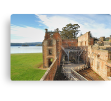 "The Penetentiary"" - Port Arthur Historic Site,Tasmania Austrralia Canvas Print"