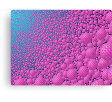 Endless Pink Orbs  Canvas Print