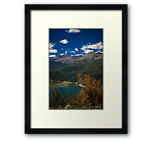 Lazy Summer Days In the Rockies Framed Print