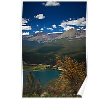 Lazy Summer Days In the Rockies Poster