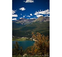 Lazy Summer Days In the Rockies Photographic Print