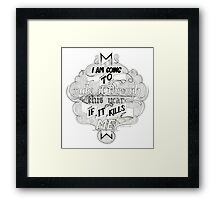 The Mountain Goats - This Year Framed Print
