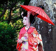 Gion Maiko by Aaron Ellis