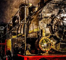Old Timer Steam Train by luckypixel