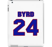 National football player Butch Byrd jersey 24 iPad Case/Skin