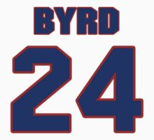 National football player Butch Byrd jersey 24 T-Shirt