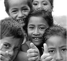 Samoana Kids by Michael Lothian