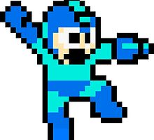 Megaman Jumping by Pyu8424