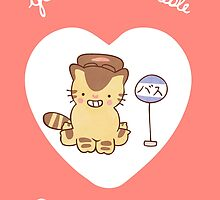 Catbus Valentine by Steph Hodges