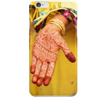 Mehendi in Udaipur iPhone Case/Skin