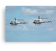 Rotors in sync Canvas Print