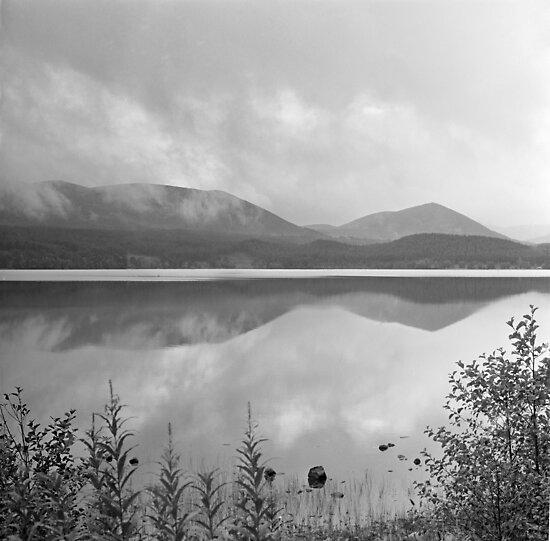 Loch Morlich reflections by PigleT