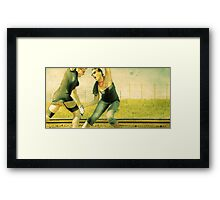 Anger Management 101 Framed Print
