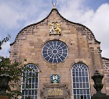 Canongate Kirk, the Church at Holyrood end of mile, Edinburgh by anaisnais