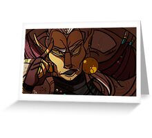 Nerevar Disapproving Greeting Card