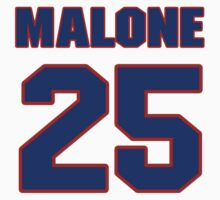 Billy, Majors, 25, team, jersey number, shirt number, sweater number, t-shirt, National, football, player, NFL by imsport