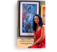 Mornington Peninsula Rotary Art Show 2008 Canvas Print