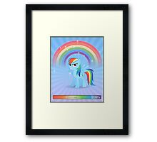 20% cooler - with text Framed Print
