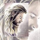 Chris Hemsworth miniature by wu-wei