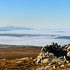 Sleivenamon from the summit of Brandon Hill, Counties Tipperary and Kilkenny, Ireland by Andrew Jones