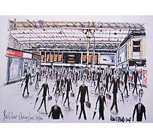 Charing Cross Railway Station, London England Photographic Print