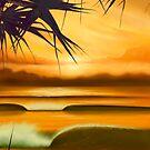 Pandanus Sunrise by ShaneMartin