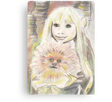 Kira and Fizzgig - The Dark Crystal Canvas Print
