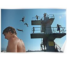 Geneva Lake Divers Poster