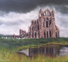 Whitby Abbey by stellawilcox