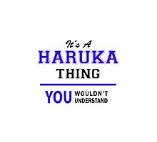 It's a HARUKA thing, you wouldn't understand !! by thenamer