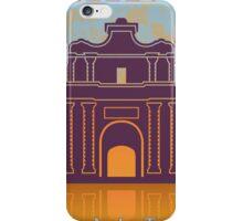 Valletta Vintage poster iPhone Case/Skin