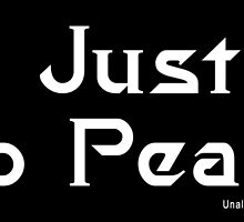 No Justice No Peace 2 by EyeMagined