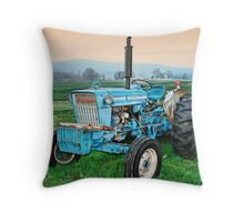 The Ford Tractor Throw Pillow