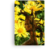 Queen of Flowers (from my exhibition) Canvas Print