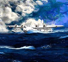 Short Sunderland Flying Boat - all products bar duvet by Dennis Melling