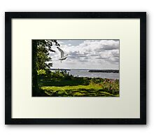 Business as Usual on James Street Framed Print