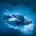 Blue Ice Hole by Interstellar Images