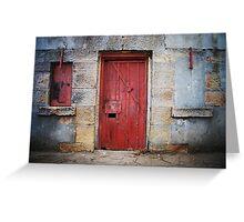 Fort Door Greeting Card