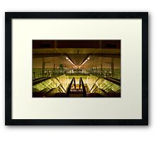 Escalators and Travelators Framed Print