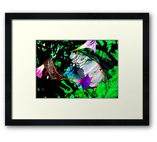 Nature under water Framed Print