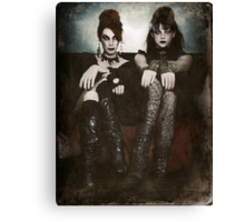 Sisters of the Sinister Canvas Print
