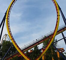 Cedar Point - Mantis Loop by SRowe Art