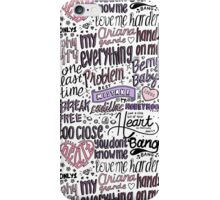 my everything collage COLORED iPhone Case/Skin