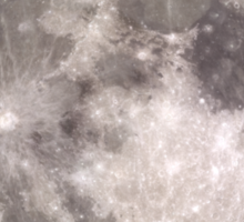 The Full Moon - HD Photo Of the Moon -  Sticker