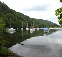Peaceful Moorings, Windermere by Tom Gomez