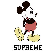 Classic Supreme Mickey Mouse Photographic Print