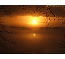 Golden Mist  Photographic Print