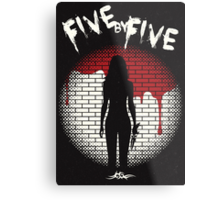 Five By Five Metal Print