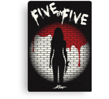 Five By Five Canvas Print