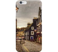 Black and White on the High Street iPhone Case/Skin